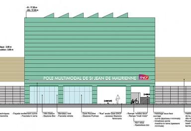 trans Gare de St Jean de Maurienne